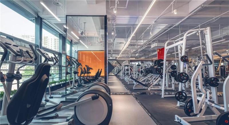 健身房设计图,健身房设计,健身房投资