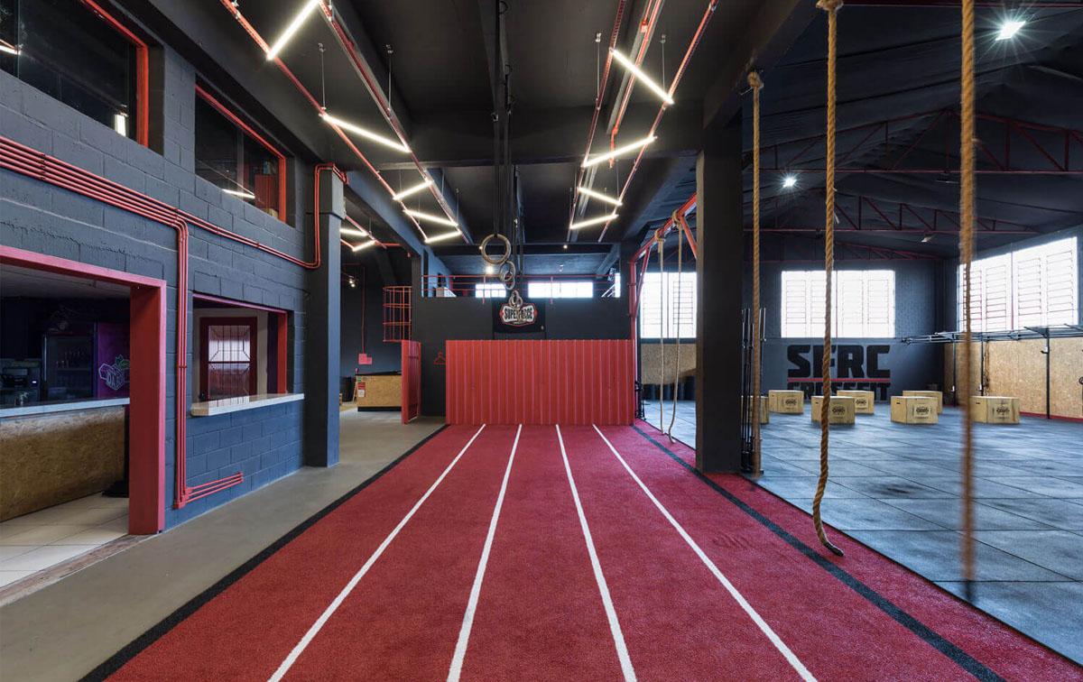 健身房设计,健身房设计案例图
