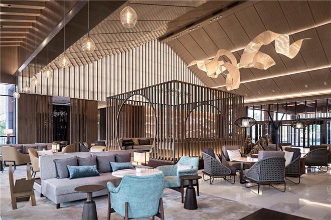 酒店设计,酒店客房设计,酒店中餐区设计