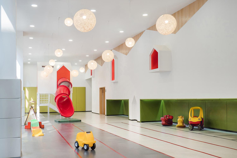 幼儿园设计案例,以孩子为中心的幼儿园设计