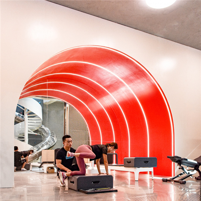 健身房设计,私教健身房设计案例图