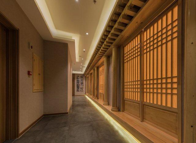 温泉酒店设计案例,洗浴设计